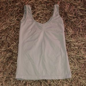 Tops - Threads stretchy gray cami XS S EUC